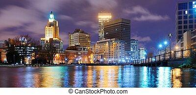 Providence, Rhode Island Skyline - Providence, Rhode Island ...