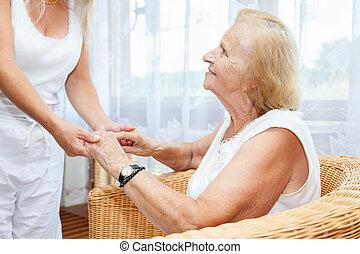 Providing care for elderly