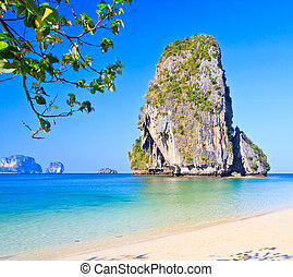 province, île, krabi, thaïlande