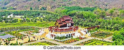 province, horkumluang, chiang, thaïlande, mai