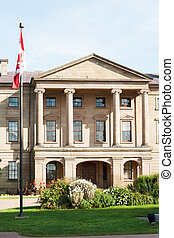 Province house in Charlottetown, capital of Prince Edward...