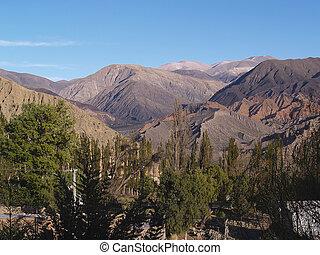 province, jujuy, argentine