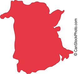 province, nouveau brunswick, canada