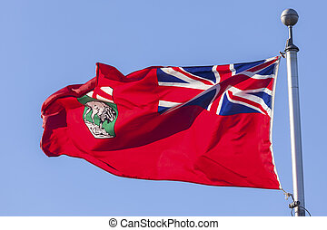 Province of Manitoba Flag, Canada - National flag of the ...