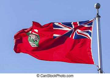 Province of Manitoba Flag, Canada
