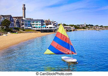 provincetown, capa, playa, bacalao, massachusetts