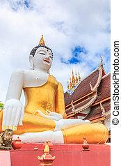 provincia, asia, templo, chiang, buddha, mai, tailandia,...