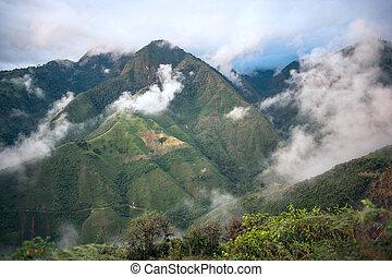 provincia, ecuador, andes, bolivar