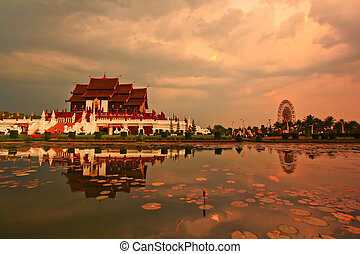 provincia, horkumluang, chiang, tailandia, mai
