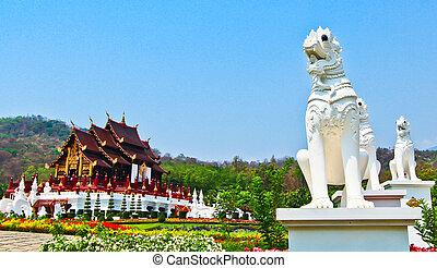provincia, mai, horkumluang, chiang, tailandia