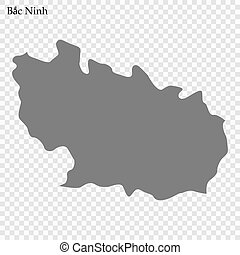 provincia, mappa, vietnam