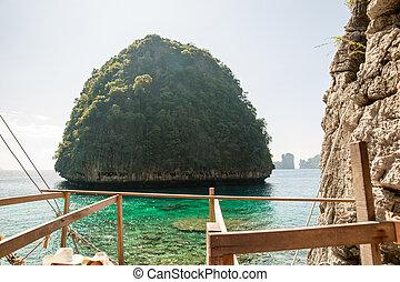 provincia, phi, maya, isla, recursos, isla, -, tropical,...