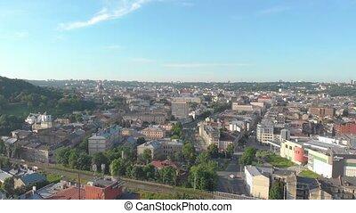 provincial, ville, cityscape