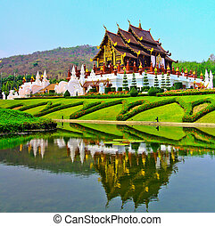 provinz, horkumluang, chiang, thailand, mai