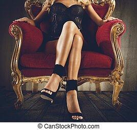 provocatie, sensueel