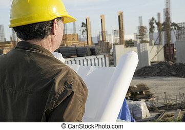 proyecto, director, construcción