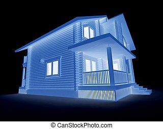proyecto, dwelling-house, nuevo