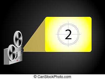 proyector, cine