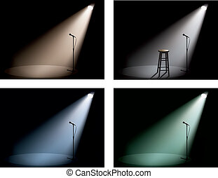 proyector, club noche