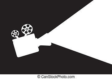 proyector, film