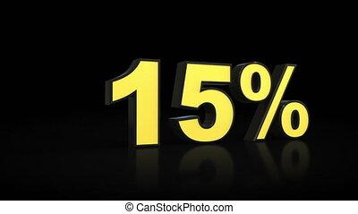 %, prozent, 0, null, animation, ninety-five, zählen, 95, 3d