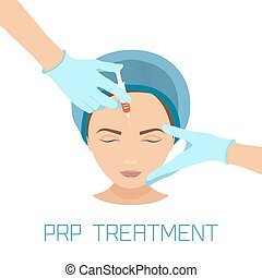 PRP facial treatment - Platelet rich plasma facial...