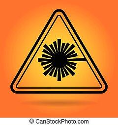 prudence, sécurité, signe, icône