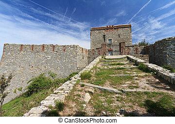 Pruin Castle, Liguria, Italy