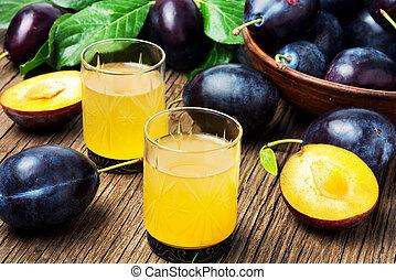 prune, boisson, alcoolique