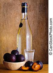 prune, cognac
