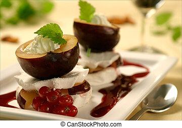 prune, dessert