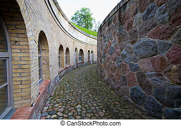 Prussian fortress in Gizycko, Poland - Old prussian fortress...