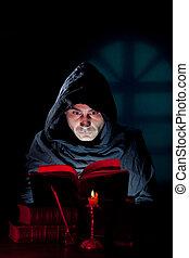 przeczytajcie, książka, mnich