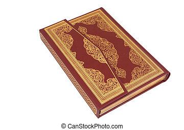 przedimek określony przed rzeczownikami, święty, koran