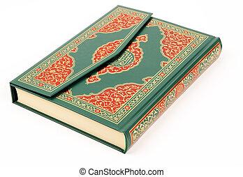 przedimek określony przed rzeczownikami, święty, quran
