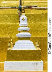 przedimek określony przed rzeczownikami, architektura, od, juramanee, pagoda, wzór
