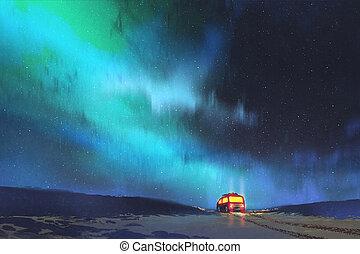 przedimek określony przed rzeczownikami, awangarda, zaparkował, przez, niejaki, piękny, gwiaździste niebo