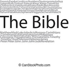 przedimek określony przed rzeczownikami, biblia