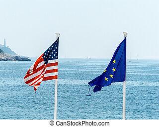 przedimek określony przed rzeczownikami, eu, i, na, bandery