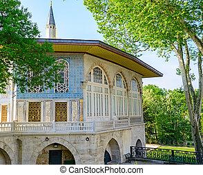 przedimek określony przed rzeczownikami, historyczny, środek, od, istanbul.
