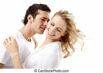 przedimek określony przed rzeczownikami, obejmowanie, enamoured