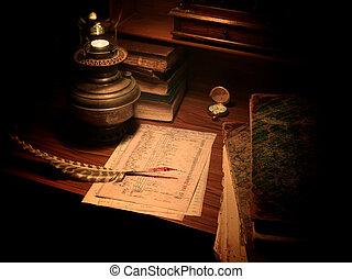 przedimek określony przed rzeczownikami, stary kształtowany,...