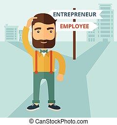 przedsiębiorca, pracownik