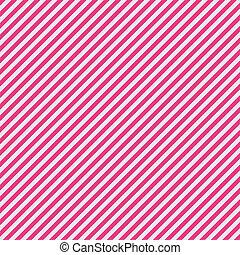 przekątny, papier, pas, różowy, biały