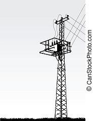 przekładnia wieża