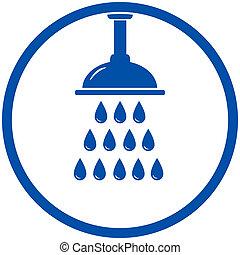 przelotny deszcz głowa