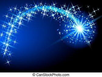 przelotny, kometa