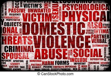 przemoc, krajowy