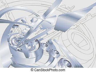 przemysłowy, ilustracja