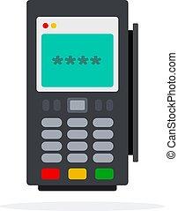 przenośny, kasa rejestrująca gotówkę